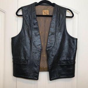 Vintage Beautiful Men's 70's Vest